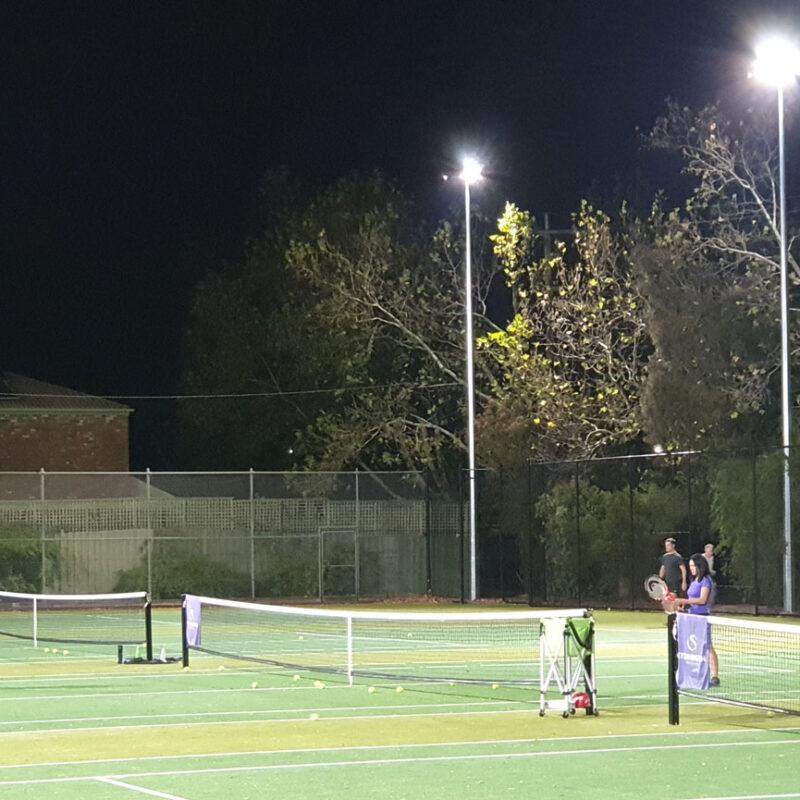 tennis court lighting in australia